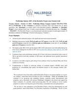 PDF: Wallbridge Options 100% of the Beschefer Project near Fenelon Gold (CNW Group/Wallbridge Mining Company Limited)