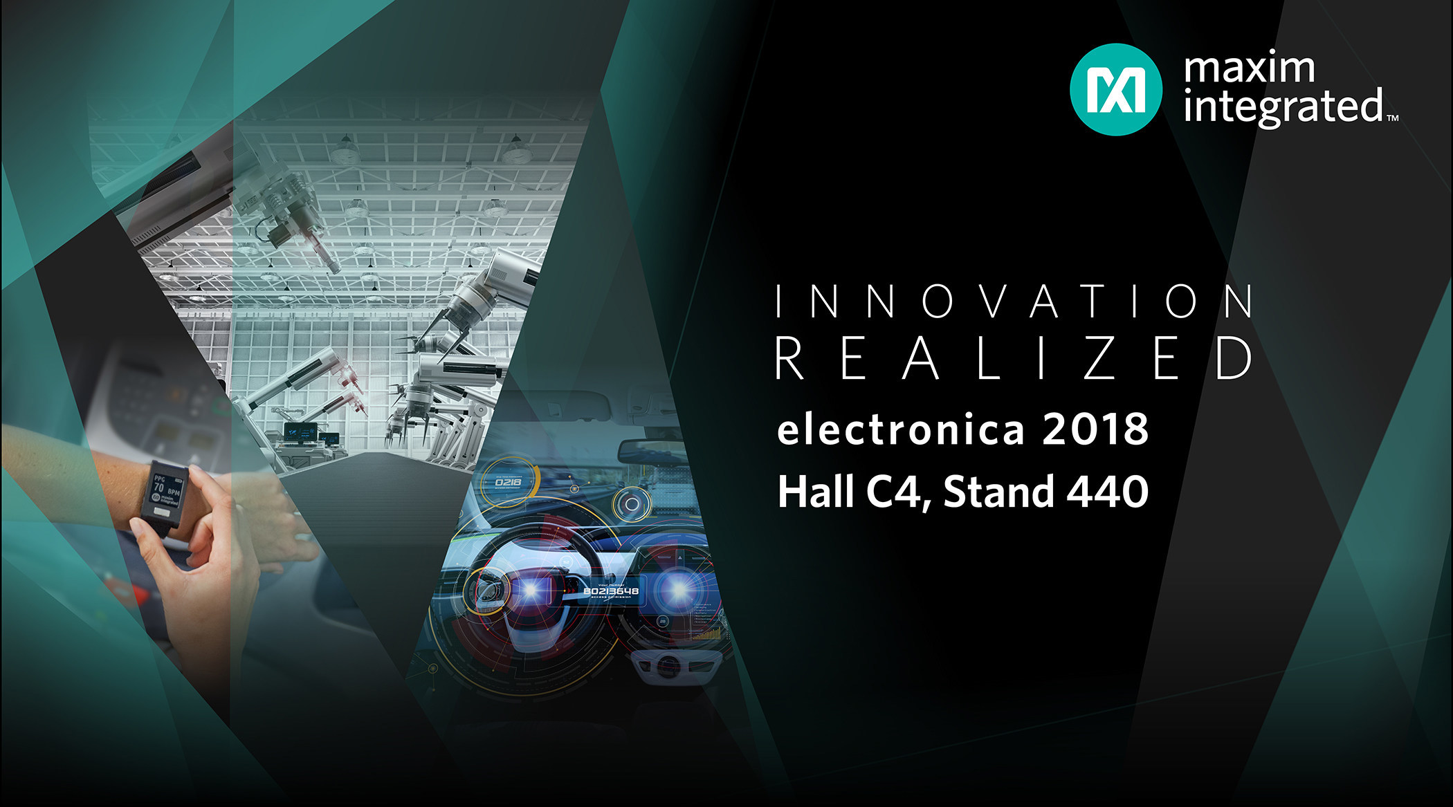 Maxim to showcase compact, intelligent and power-reducing solutions at electronica