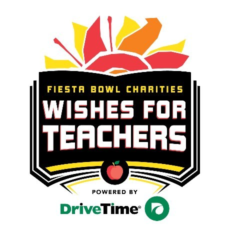 DriveTime has joined as presenting partner of Fiesta Bowl Charities Wishes for Teachers.