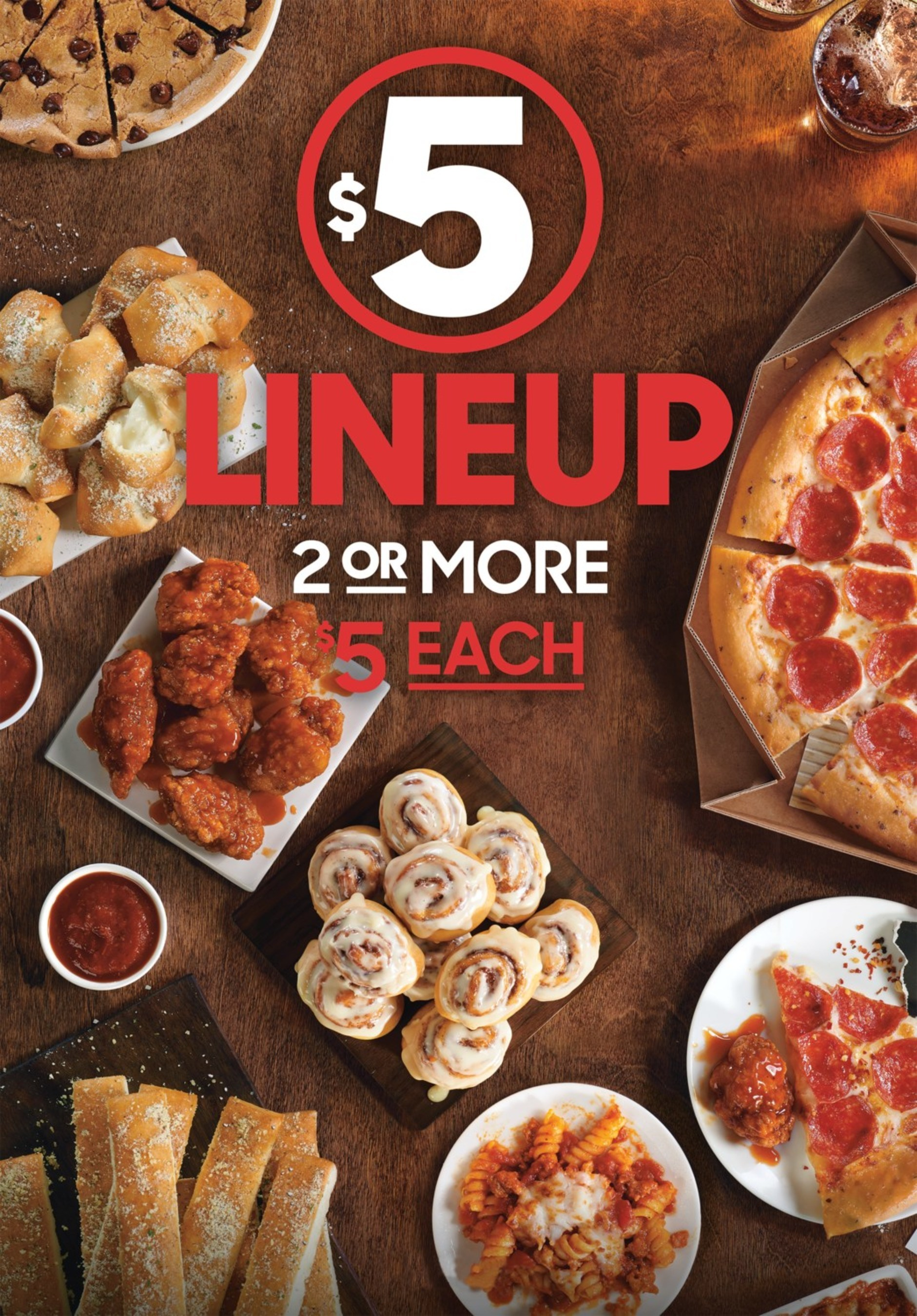 Pizza Hut Launches 5 Lineup Stacked With Pizzas And Other Craveable Menu Options