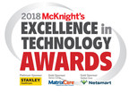 Double Win: It's Never 2 Late® Technology Adopters Earn 2018 McKnight's Excellence in Technology Awards