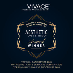 Aesthetics Biomedical - Vivace Microneedle RF Wins Ten 2018 Aesthetic Everything® Awards