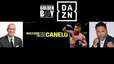 DAZN Will Stream Next 11 Canelo Fights & Up to 10 Golden Boy Cards Per Year