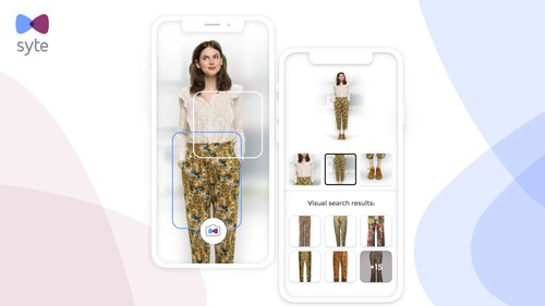 Syte's visual search solutions allow users to shop from any image of inspiration