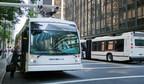 Deux autobus électriques Nova Bus à Vancouver dans le cadre du projet CRITUC (Groupe CNW/Nova Bus)