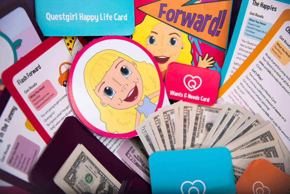 Recommended for ages 5-9, Financial Fun Boxes teach financial literacy to young girls.