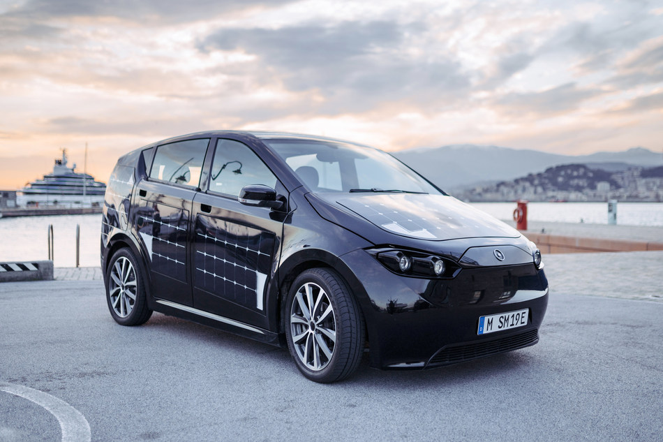 Sion (PRNewsfoto/Sono Motors GmbH)
