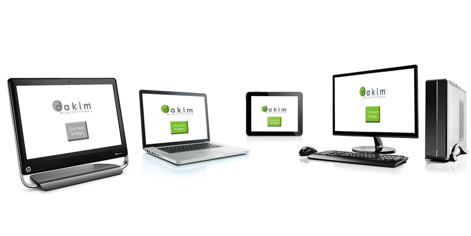For the first time, Dakim BrainFitness now runs on PCs, Macs, and iPads