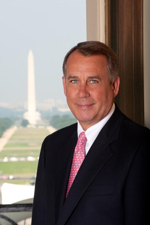 John Boehner, Former Speaker of the House