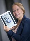Rachel Thompson, PDG et fondatrice de Marlena Books, a développé une plateforme de lecture numérique pour les personnes atteintes de démence avancée (Groupe CNW/Le Réseau de Centres d'excellence AGE-WELL (RCE))