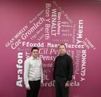 Alun Hughes, Business Systems Developer with Geraint Vernon, Business Systems Support Manager, Cartrefi Cymunedol Gwynedd (PRNewsfoto/FlowForma)