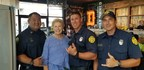 "Dickey's Says ""Mahalo"" to Local First Responders"