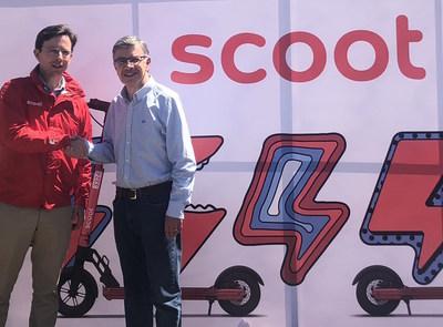 Scoot Networks arranca en América Latina con el primer servicio de vehículos eléctricos compartidos en Chile