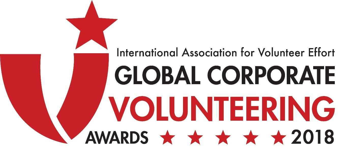 Seven companies with exceptional corporate volunteering programs accepted the 2018 IAVE Global Corporate Volunteering Awards in Augsburg, Germany.