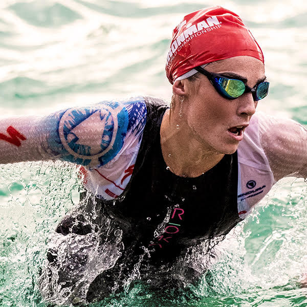 ROKA athlete Lucy Charles rewrote one of the oldest records in triathlon on Saturday at IRONMAN World Championship, swimming through Kailua Bay faster than any female athlete in the 40-year history of the race.