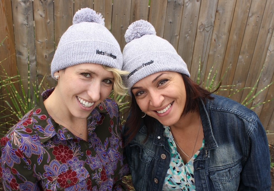 While there is currently no cure for brain cancer, there is most certainly hope. #HatsForHope (CNW Group/Brain Tumour Foundation of Canada)