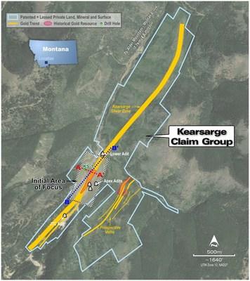 Figure 1: Kearsarge Leases including Initial Area of Focus (CNW Group/Transatlantic Mining Corp.)