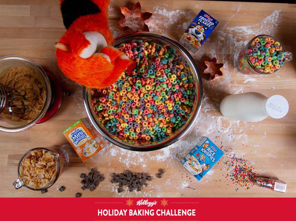 This season, transform your favorite holiday treats, menus and gatherings with the perfect unexpected ingredient: Kellogg's® cereal!