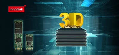 Innodisk industrial-grade 3D NAND SSD series uses pure industrial-grade Toshiba 3D TLC NAND flash with a rated P/E cycle number of 3000, ensuring solid longevity, while the fully in-house designed firmware is geared towards industrial usage.