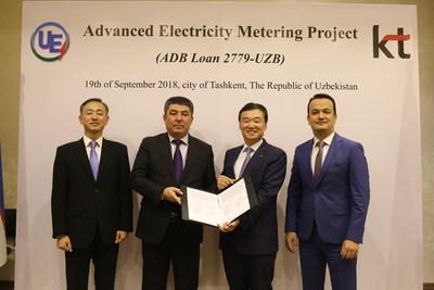 KT Corp. Wins Second Smart Meter Project in Uzbekistan