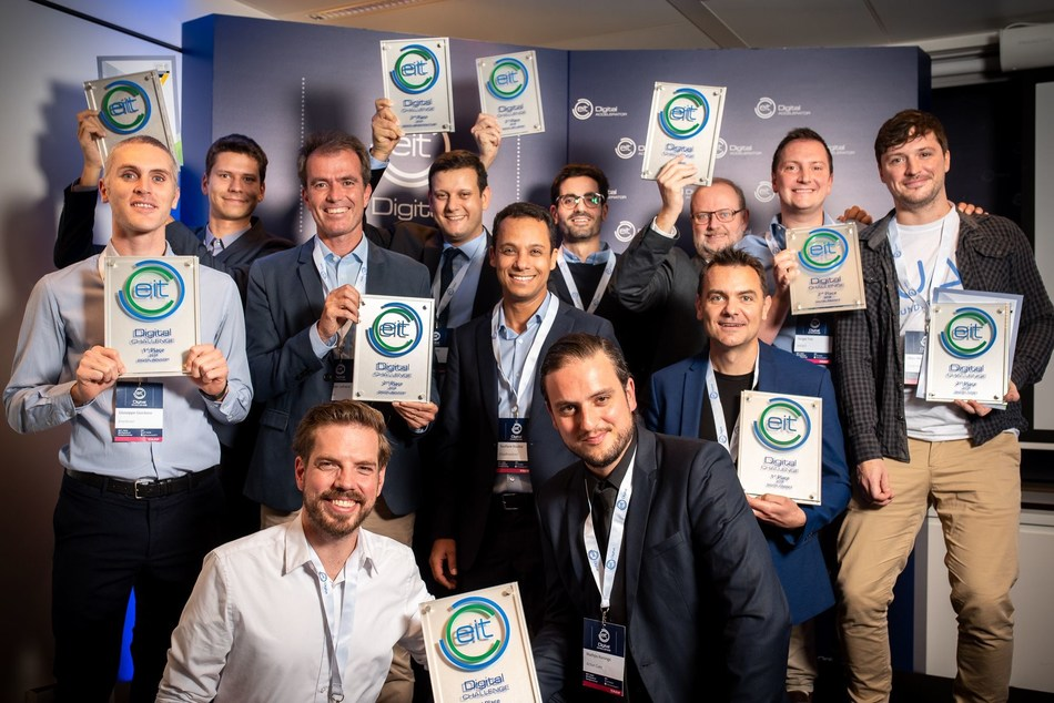 EIT Digital Challenge 2018 Winner (PRNewsfoto/EIT Digital)