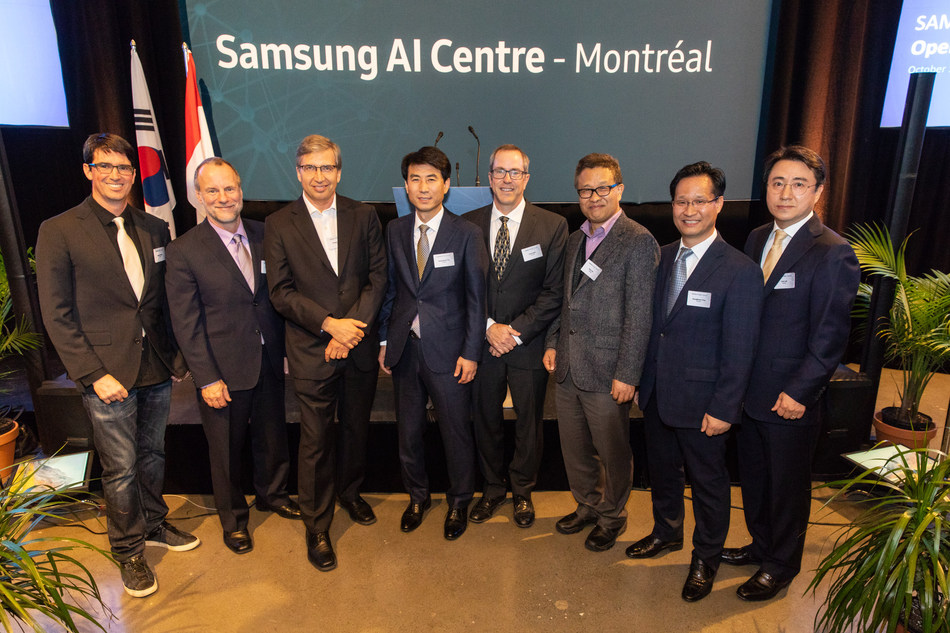 Samsung Electronics Opens another AI Centre in Montreal and Expands AI Research Presence in North America (CNW Group/Samsung Electronics Canada Inc.)