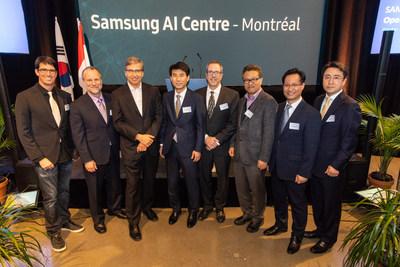 Samsung Electronics ouvre un autre centre d'IA à Montréal et renforce ainsi sa présence dans la recherche sur l'IA en Amérique du Nord (Groupe CNW/Samsung Electronics Canada Inc.)
