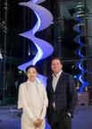 One York Street debuts Infinite Energy II art installation, a Canadian first (CNW Group/Menkes Developments Ltd)