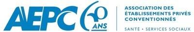Logo : Association des établissements privés conventionnés (Groupe CNW/Association des établissements privés conventionnés (AEPC)) (Groupe CNW/Association des établissements privés conventionnés (AEPC))