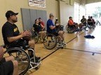 Wounded Warrior Project exposes veterans to adaptive sports to help them gain confidence and knowledge of what's available. Warriors had the opportunity to try soccer, football, softball, and basketball – all in wheelchairs. Many are encouraged to continue participating in adaptive sports.