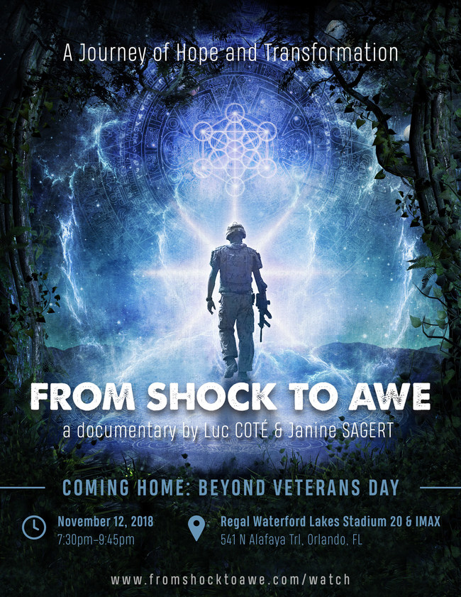 The Psychedelic Film and Music Festival: BEST DOCUMENTARY From Shock To Awe (2017, USA/Canada) - East Coast Premiere. From Shock to Awe captures the Mangurama Award for Conscious  Documentary Storytelling at Illuminate Film Festival. The Mangurama Award goes to the most transformative non-fiction film that exhibits a strong story arc, compelling subjects, and high production value.