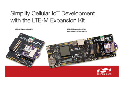 Silicon Labs' LTE-M expansion kit, jointly developed with Digi International, accelerates low-power cellular IoT applications.