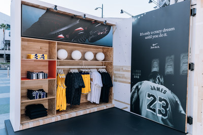 """HOH Courtside"" Pop-Up at L.A. Live (PRNewsfoto/Foot Locker, Inc.)"