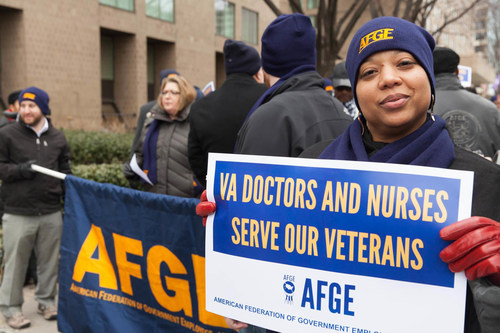 American Federation of Government Employees Local 2054 first filed Gayle Gordon and Teresa Maxwell v. United States of America in 2014 after the union discovered that Drs. Gordon and Maxwell were earning approximately $14,000 annually less than their male colleagues.