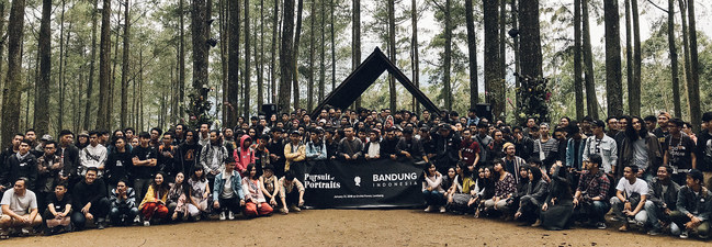 Pursuit of Portraits meet-up in Bandung