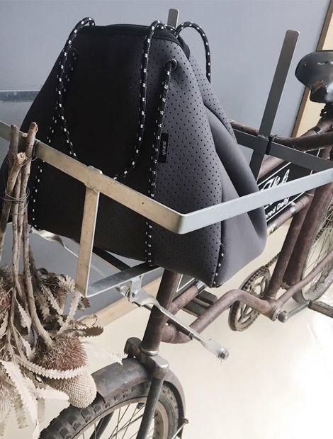 PUNCH Charcoal grey neoprene Tote bag (PRNewsfoto/Punch Neoprene)