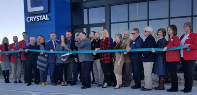 Crystal Group Opens New Manufacturing Facility; Creates New Jobs, Production Capacity, Innovation