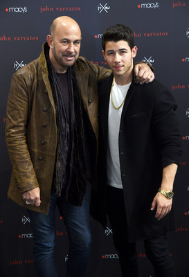 Nick Jonas And John Varvatos Meet & Greet Fans At Macy's Herald Square In New York City