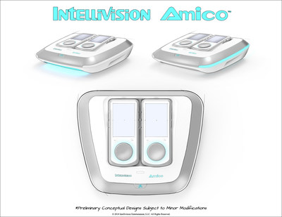 Intellivision Amico - Sketch Reveal 2 (Overhead & Lighting)
