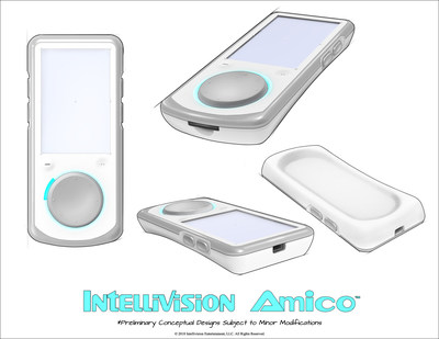 Intellivision Amico - Sketch Reveal 4 (Controllers)