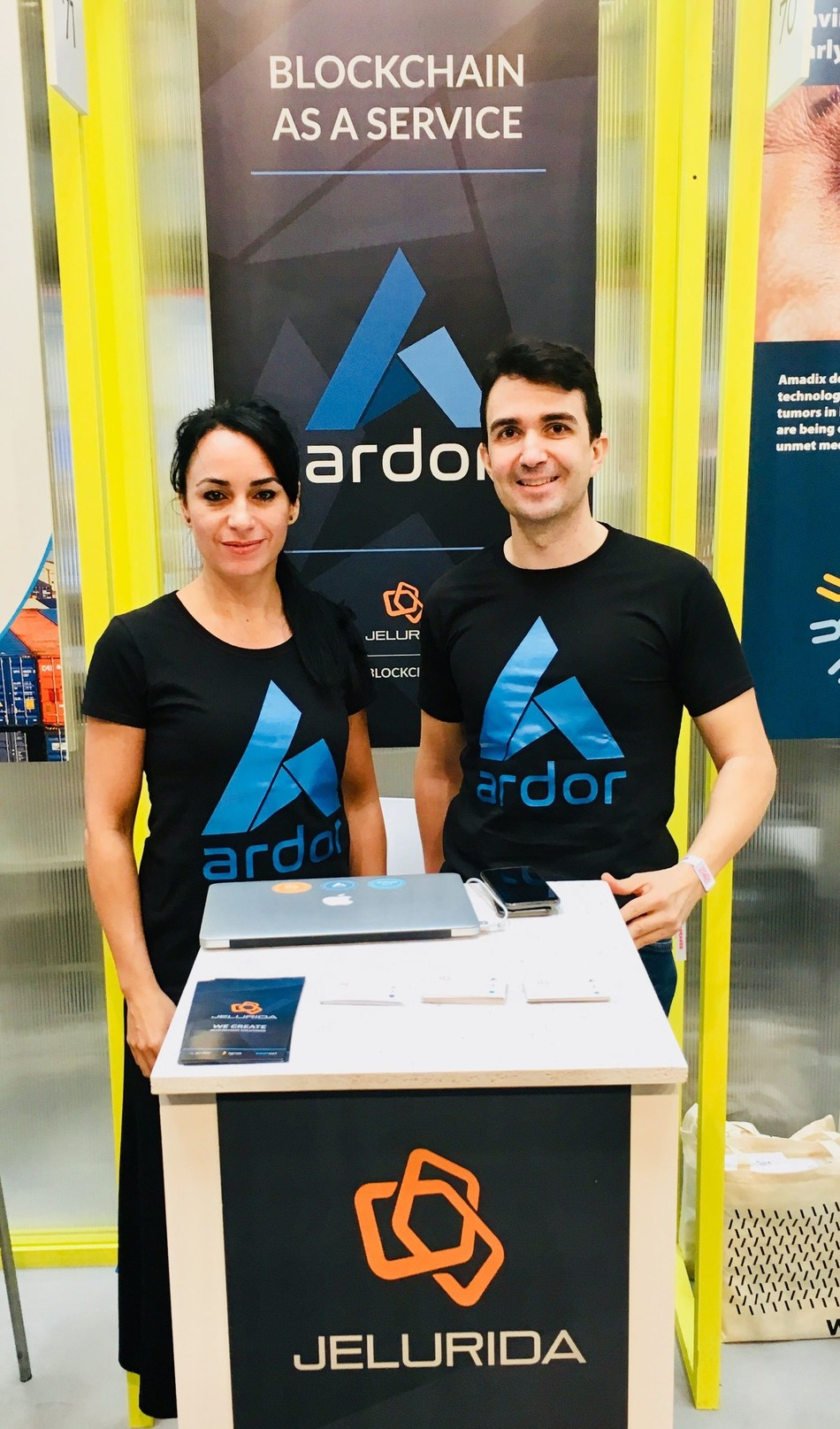 Jelurida Team Presenting the Ardor Blockchain Platform (PRNewsfoto/Jelurida)