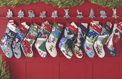 Lands' End celebrates 25 years of making holiday memories with its festive needlepoint Christmas stockings. To mark the occasion, Lands' End is launching Monogram Mondays, beginning with the iconic needlepoint Christmas stocking on Monday, October 22. On that day, Needlepoint Stockings will be 30 percent off regular prices, including free monogramming by calling 1-800-800-5800 or by visiting landsend.com.