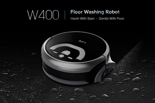 ILIFE Launches All-New Floor Washing Robot W400: It's Time to Enjoy the Real Immaculate Living