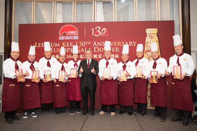 Ten distinguished Master Chefs of Chinese cuisine participate in the 130th Anniversary Europe Gala Dinner