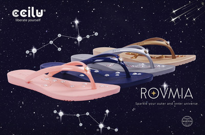 CCILU to Launch Footwear Collection Embellished with the Finest Crystals Brand will be an Ingredient Branding partner bearing the 'Crystals from Swarovski®' seal. CCILU INTERNATIONAL INC. has announced plans for a footwear collection enriched with Swarovski® crystals. The first product planned for launch is the Rovmia, featuring CCILU's Red Dot award-winning Stepping Stones technology embellished with crystals from Swarovski. The collection will be launched in 2019, and be available worldwide.