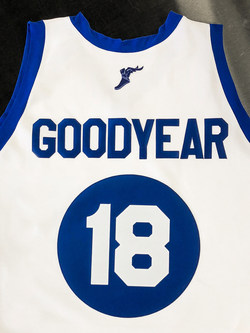 Available now through Nov. 30 through a special sweepstakes promotion on Wingfoots100.com, the anniversary throwbacks are imprinted with the original 1918 Wingfoots logo and pay homage to Goodyear's long-standing basketball heritage.