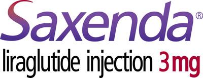 Saxenda® logo. Please see full Prescribing Information for Saxenda® at Saxenda.com