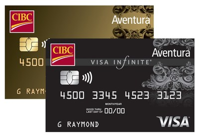 CIBC adds new travel benefits and insurance coverage to its premium Aventura® cards. (CNW Group/Canadian Imperial Bank of Commerce)