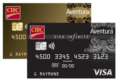 La Banque CIBC ajoute de nouveaux avantages voyages et une nouvelle assurance à ses cartes Aventura(MD) haut de gamme. (Groupe CNW/Banque Canadienne Impériale de Commerce)