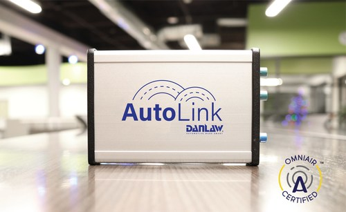 Danlaw's AutoLink - On-Board Unit (OBU) for DSRC based, V2X connected vehicle applications.